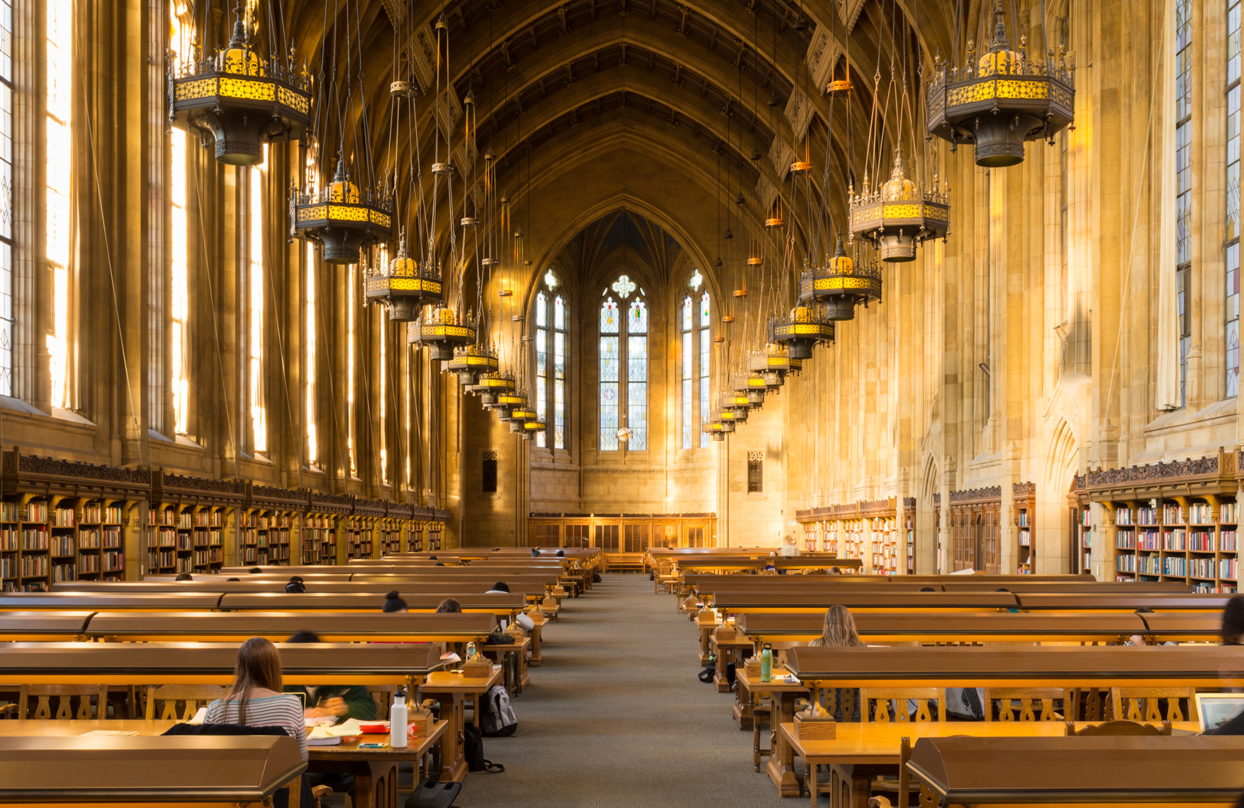 Suzzallo Library interior, University of Washington, Seattle