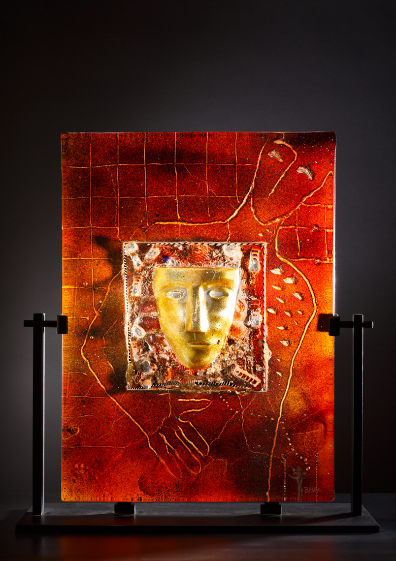 Glass art by Bertil Vallien